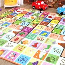 बेबी प्ले मैट रग पहेली विकसित करना मैट मैट्स बच्चों के लिए रग मैट नवजात शिशुओं के लिए बच्चों के खिलौने ईवा फोम कालीन बेबी खिलौने