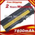 """9 celdas 7800 mah batería para lenovo thinkpad l410 l412 l420 l421 l510 L512 L520 SL410 SL510 T410 T410i T420 T510 T520 Edge 14"""""""