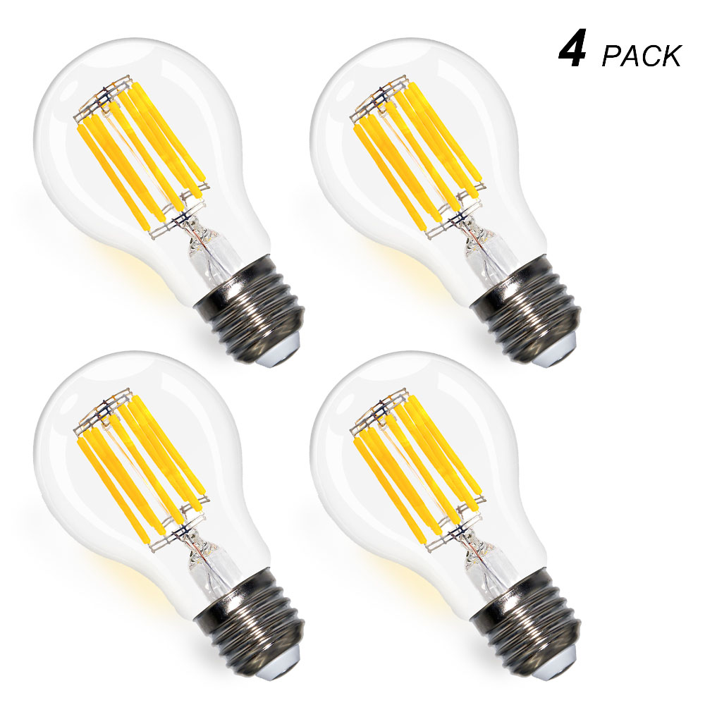 Retro Lamp A60 Vintage Edison Bulb E27 Globe Light Bulb Holiday Lights 8w 800Lm Filament Lighting Lampada for Home Decor