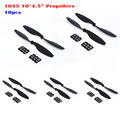 10pcs 1045 10 * 4.5 inch Propeller Blade Replacment Spare Parts for RC Quadcopter Drones Aircraft Multicopter