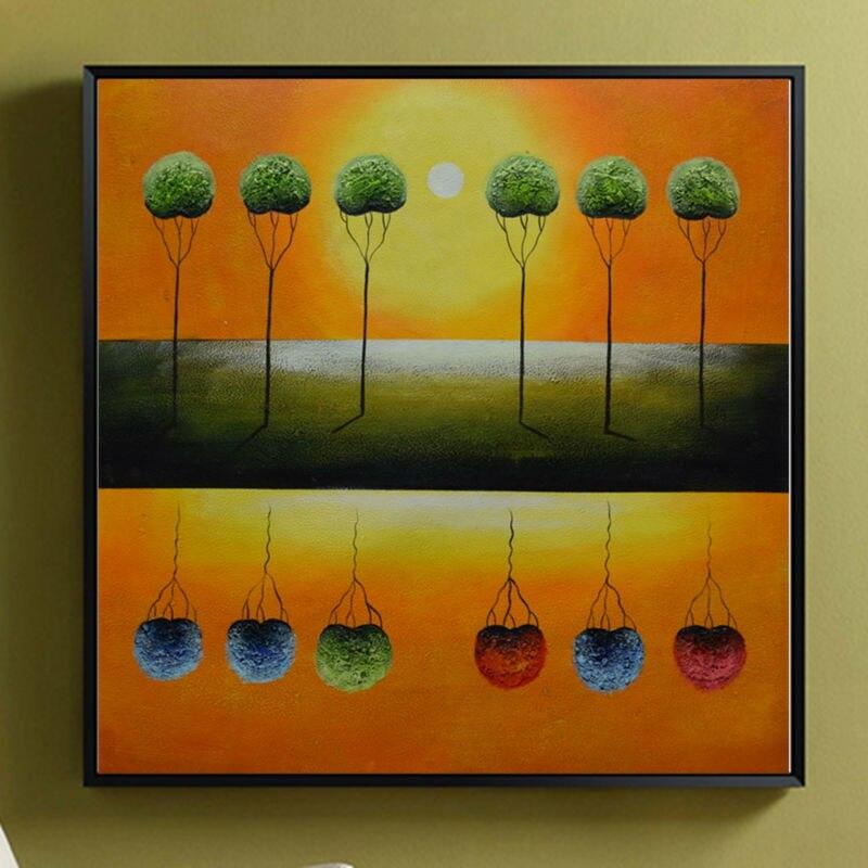 Картина маслом холст абстрактный цветок ручная роспись стены искусства картины для гостиной Картины холсте современного домашнего декора ...