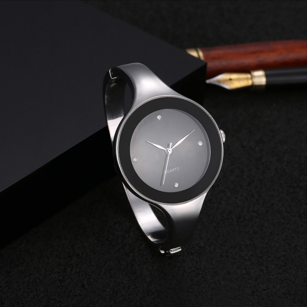 Luxury Crystal Bracelet Watch Women Watches Simple Fashion Women's Watches Stainless Steel Ladies Watch Clock Reloj Mujer