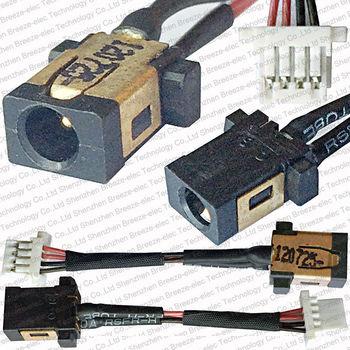 Novedad, Cable de toma de corriente CC para ordenador portátil genuino para...