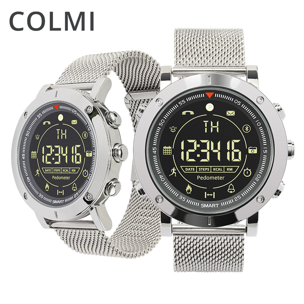 COLMI Flagship Casual Sport Smart Watch 33-month Standby Time 24h All-Weather Monitoring Smartwatch For IOS And Android