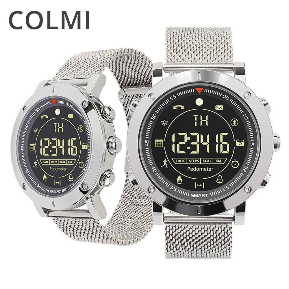 COLMI insignia Casual Sport Smart Watch 33-meses de espera 24 h supervisión de todo tiempo Smartwatch para IOS y Android