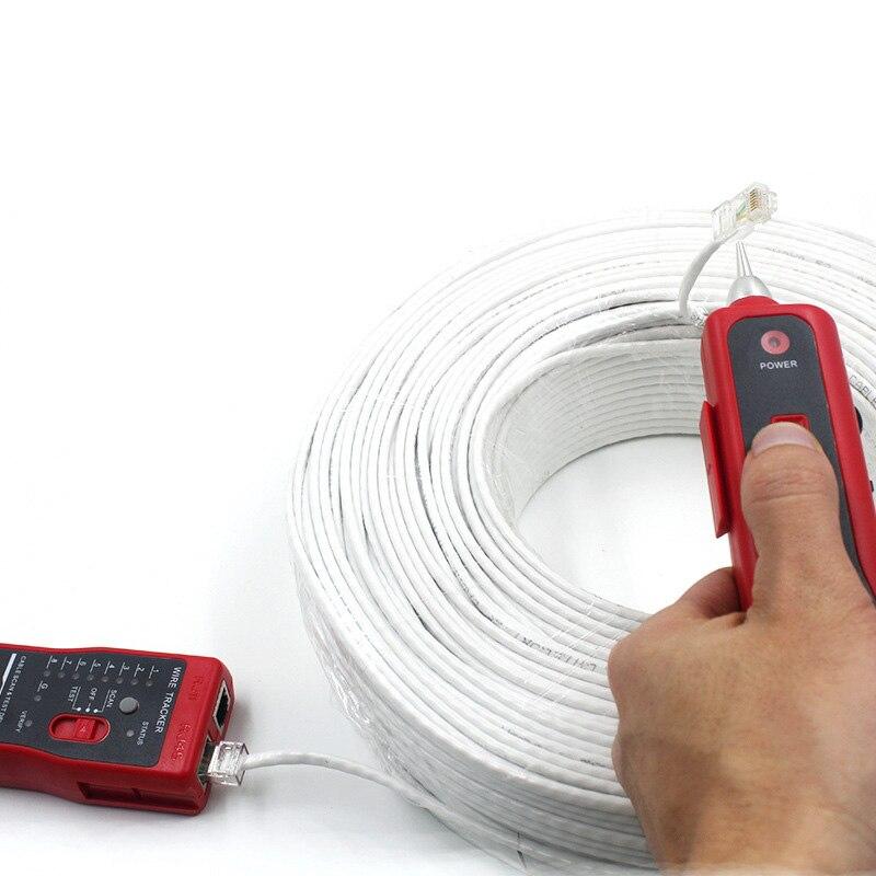 Коаксиальный кабель провод отслеживания сетевой тестер линии RJ45 RJ11 телефон QJY99
