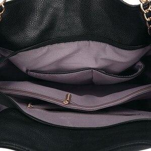 Image 5 - 2019 сумки для женщин большие роскошные сумки женские ручные сумки роскошные брендовые сумки из натуральной кожи повседневная женская сумка через плечо