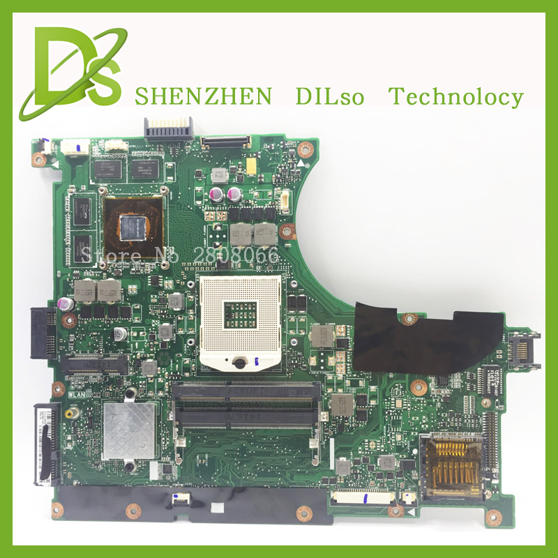 For ASUS N56VM N56VZ N56VB Laptop motherboard N56VM mainboard REV2.3 Non-Integrated with Graphics card 100% tested motherboard laptop motherboard mainboard for dell nspiron e5520 0jd7tc cn 0jd7tc for intel cpu with integrated graphics card 100