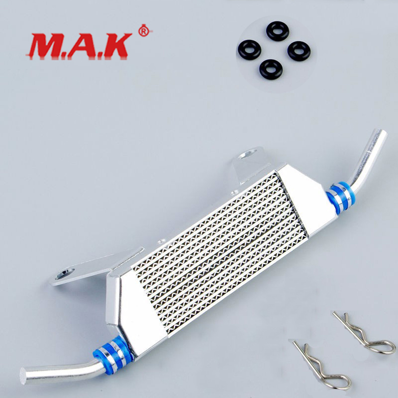 1:10 Scale Inter-cooler Kit In Alloy Fit 1/10 RC Model Car HPI 097001 For Car Model Parts And Accessories