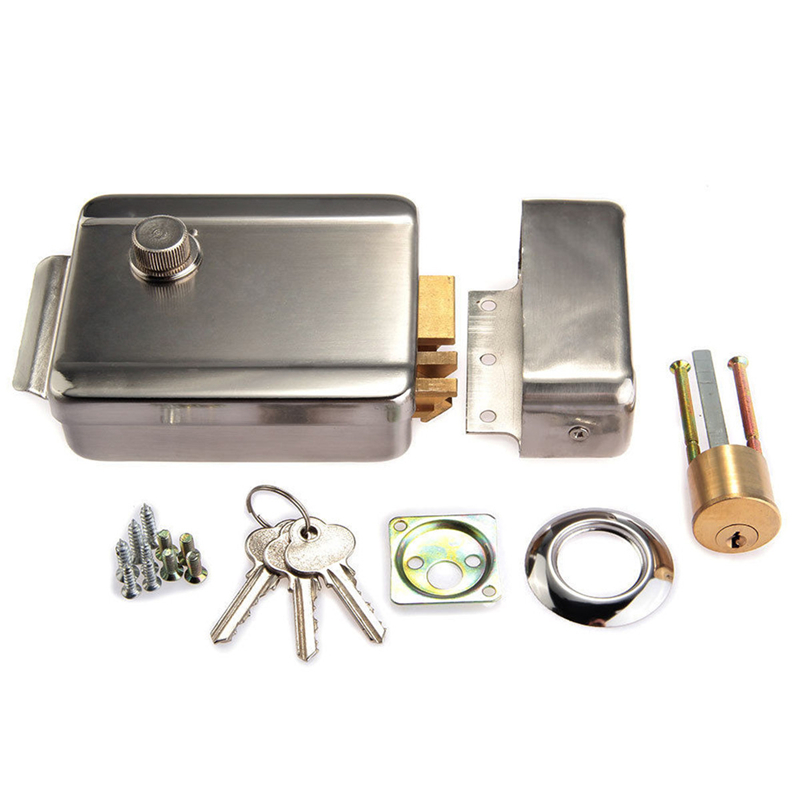 все цены на DANMINI Electric Control Lock Electronic Magnetic Door Lock For 12V DC Access Control System Video Intercom Door Phone System