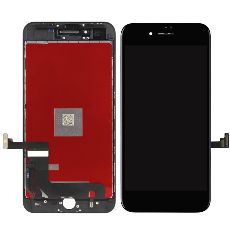 5 pcs/lot OEM qualité 100% bon pour iPhone 8 plus LCD écran tactile remplacement avec tactile numériseur livraison gratuite