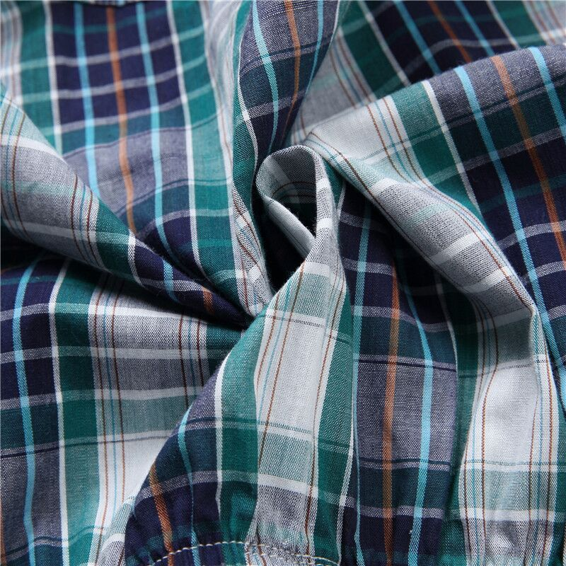 Image 4 - Panties Mens Boxer Men Underwear Cotton Man Shorts Breathable Plaid Flexible Shorts Boxer 5Pcs/lot Male Underpants 5XL 6XL-in Boxers from Underwear & Sleepwears