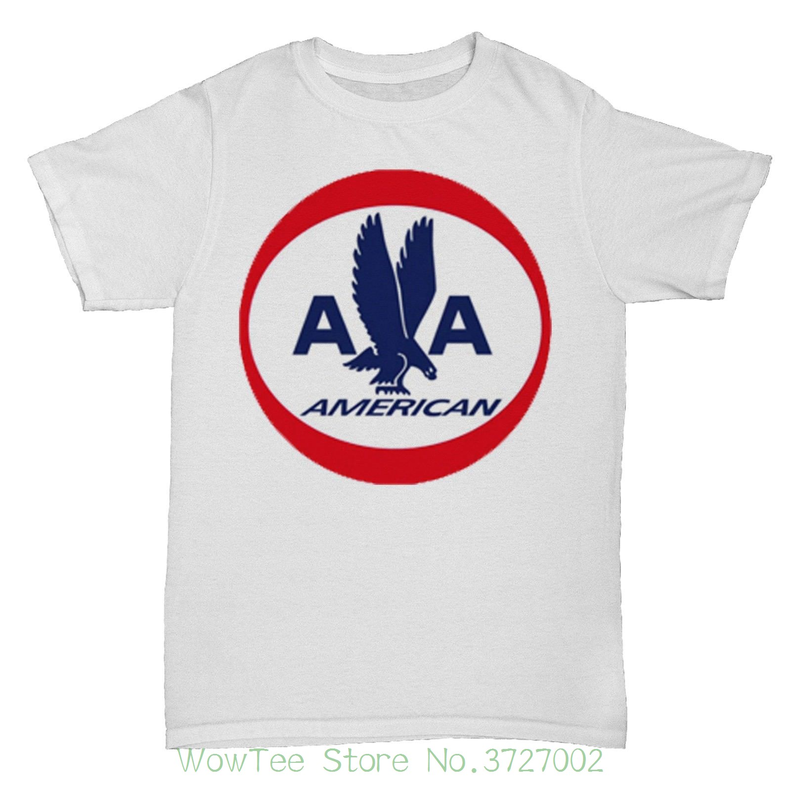 American Usa Airlines Retro Aeroplane Boac Pan Am T Shirt Fashion T-shirts Summer Straight 100% Cotton