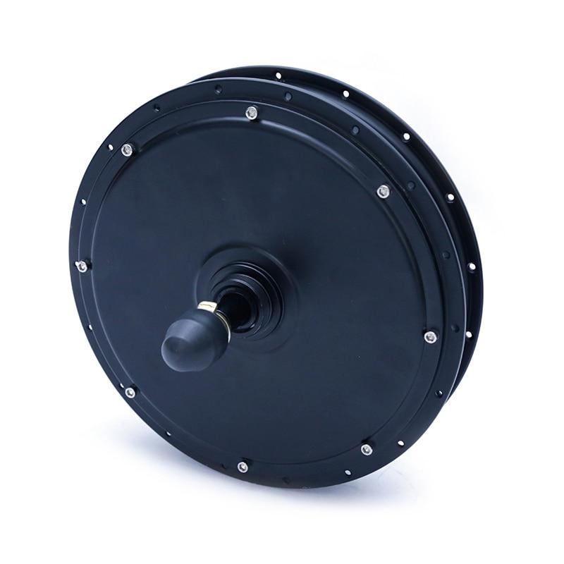 Pulsuz çatdırılma 48V 1000W Elektrikli Velosiped Motoru Ebike Fırçasız, Arxa Təkərli e-velosiped çevirmə dəsti üçün Ötürücü Hub Motor.