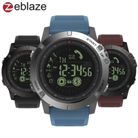 Zeblaze VIBE 3 GMT Two Places All Day Activity Record Sport 33 Month Long Standby Information