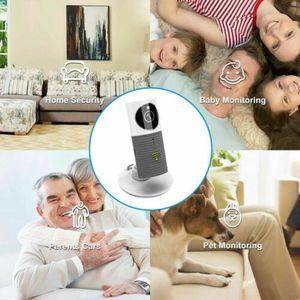 Image 5 - HD 720P intelligent chien chien chien sécurité à domicile WiFi CCTV IP caméra bébé moniteur gris