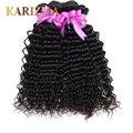 Малайзийский глубокая волна virgin Малайзии волнистые волосы пучки 4 шт. дешевые али moda Малайзии глубоко вьющиеся человеческих волос волна Глубокой волна