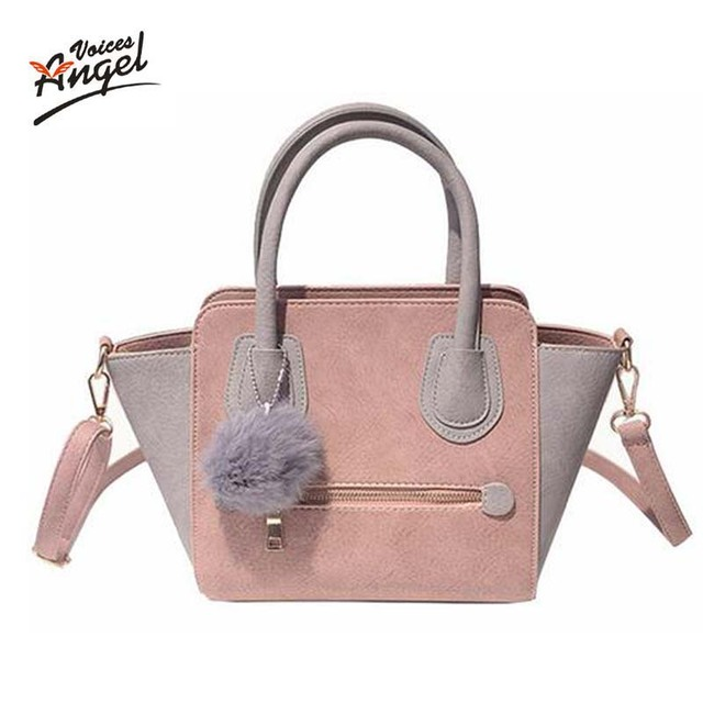 2017 Spring Smiley PU Leather Tote Bag Women Trapeze Fashion Designer  Handbags High Quality Ladies Bags Vintage Crossbody Bags a9957d91253fc