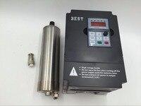400 Вт ER11 шпинделя натуральный охлаждением AC110V высокое Скорость 10000 ~ 40000 об./мин. и 1500 Вт VFD инвертор ЧПУ комплект