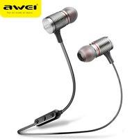 AWEI T12 Bluetooth Earphone Wireless Headphone Headset For Phone Sport Earphone With Mic Bluetooth CSR V4