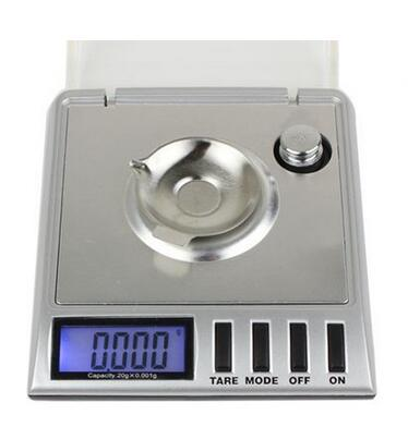 20G / 0.001G Mini Digital Karat Scale Silver Jewelry Pocket Scale Portable Electronic Weighing Scale