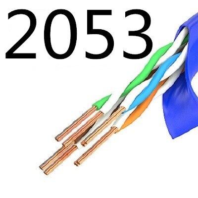 2053 XIWANG vend chaud CAT7 UTP câble rond câbles Ethernet fil réseau RJ45 cordon de raccordement Lan câble fabriqué en chine