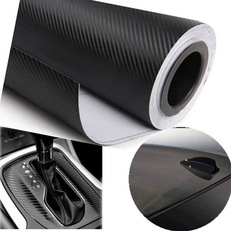 300mmX1520mm Matte Black Vinyl Wrap Film Roll Sheet Sticker Air Free