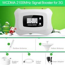 Горячая 3g сотовый телефон усилители домашние WCDMA 2100 мГц мобильный 3g усилитель сигнала ретранслятор для МТС Билайн Vodafone RU