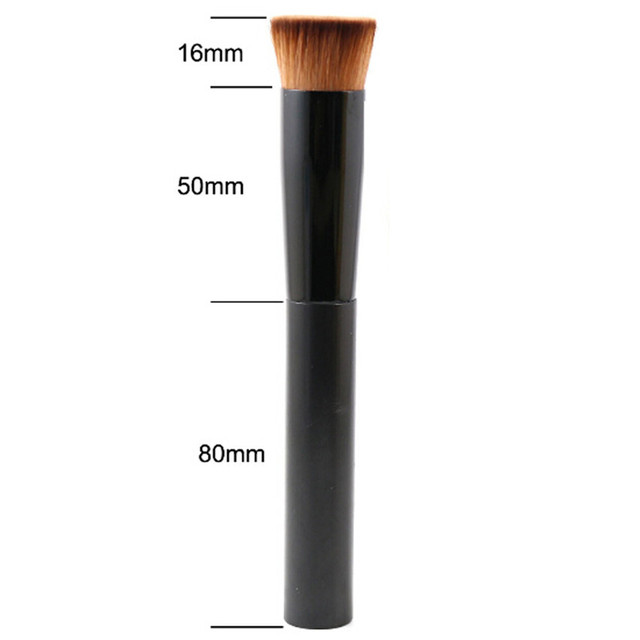 SAIANTTH Black concave liquid foundation brush bb cream single makeup brushes professional beauty tools pincel maquiagem make up 5