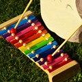 Envío gratis niños de percusión Orff xilófono de juguete, de los niños temprano educativo clásico juguetes de la música, Juguete de Instrumentos Musicales
