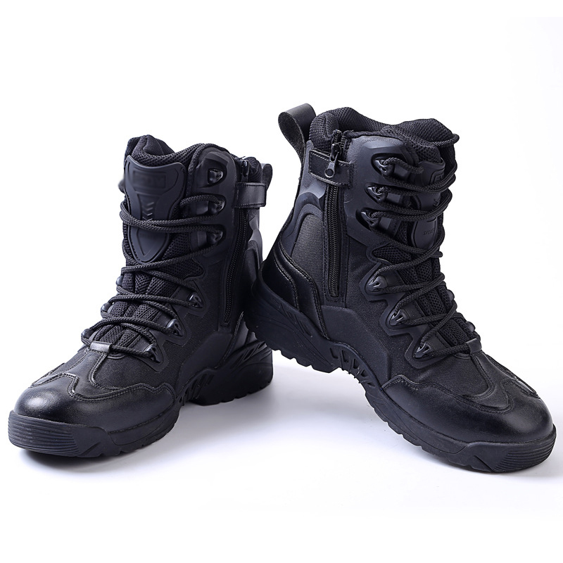 Men Military tactical Combat high Desert boots wear-resistant trekking hiking shoes shoes Militares Sapatos Masculino 2 coloursMen Military tactical Combat high Desert boots wear-resistant trekking hiking shoes shoes Militares Sapatos Masculino 2 colours