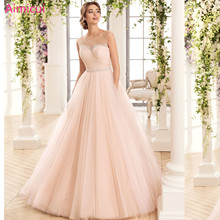 3acb5f8d1a Pink Sweetheart Ball Gown Tulle Sexy New Style Lace up Wedding dresses 2019 Bridal  dress Bride Dress