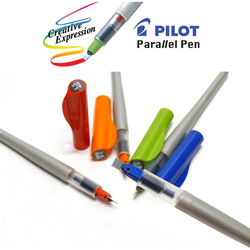 Pilot Parallel Calligraphy Pen Set,1.5mm,2.4mm,3.8mm and 6.0mm with Bonus Ink Cartridge