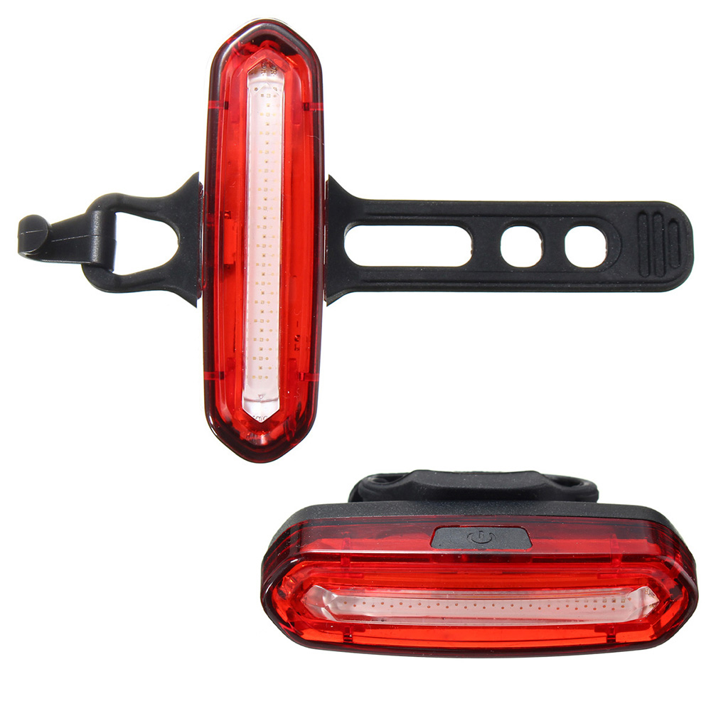 Rear-Light Bike Bicycle USB Waterproof MTB Safety-Tools