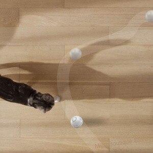Image 3 - Xiaomi Petoneer Pet akıllı arkadaşı top kedi oyuncak dahili catnip kutu düzensiz kaydırma komik kedi artefakt akıllı pet oyuncak