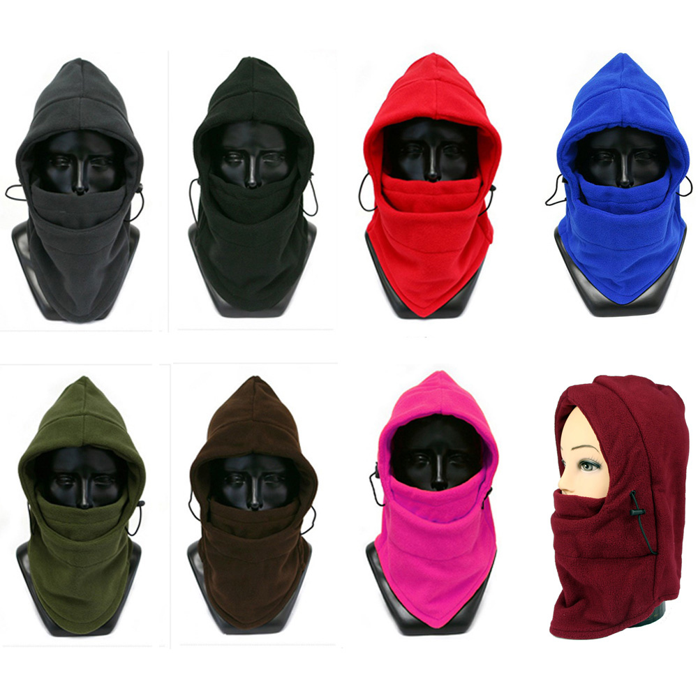Men Balaclava Ski Skate Mask Hat Winter Neck Warmer Fleece Cycling Cap NEW CSHAT0549(China)