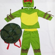 Три стиля, 3-7 лет, маскарадные вечерние костюмы для мальчиков, одежда для ролевых игр, Детский костюм на Хеллоуин(черепаха-ракушка может быть активна