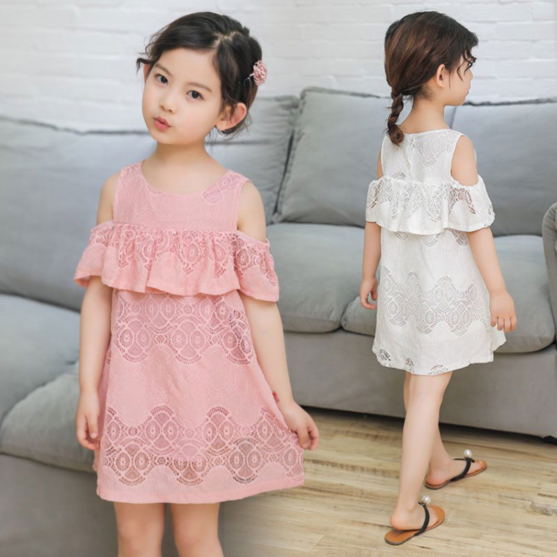 Summer 5 14 Years Old Child Clothes Girl Chiffon Off -2416