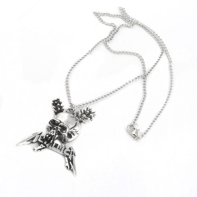 Metallica Skull Pendant / Necklace 5