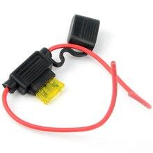 1 предмет 20A Средний низкопрофильный корпус держатель предохранителя лезвия Водонепроницаемый inline g0247 p0.3