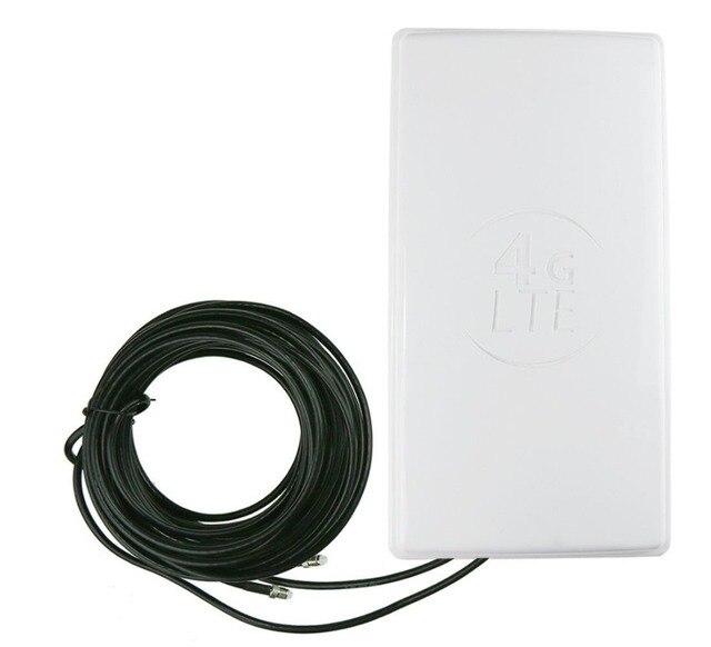 Высокая мощность wi-fi 4 г LTE антенна с высоким коэффициентом усиления плоские панели внешняя антенна беспроводной сети маршрутизаторы 10 М Кабель