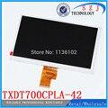 Original 7 ''pulgadas (1024*600) pantalla LCD 40pin 100% Nueva pantalla LCD Tablet PC pantalla TXDT700CPLA-42 TXDT700CPLA Envío gratis