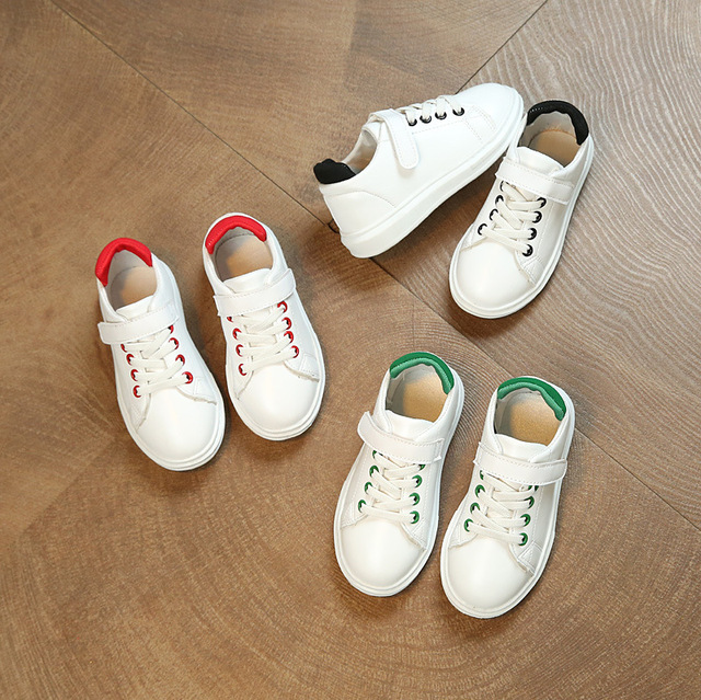 Children shoes sneakers 2017 new leather waterproof comfortable soft men  and women children leisure sports kids 0d39f03649