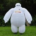 Halloween traje Inflable Big Hero 6 baymax Baymax Partido cosplay para hombres adultos ropa inflable Traje de La Mascota