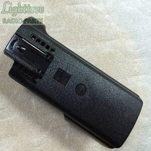 Image 2 - Suporte traseiro da embalagem da bateria do coldre com o grampo da correia para motorola apx7000