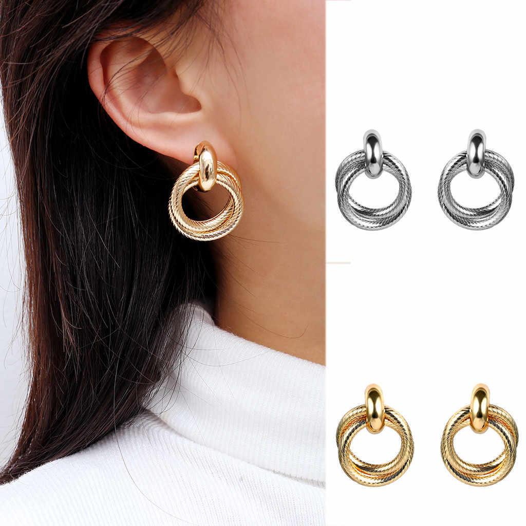 Women Cartilage Tragus Earring Fake Gauge Earrings Serga Kozelka