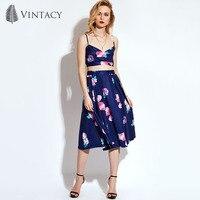 Vintacy Women Crop Tops Skirt Set Suits Summer 2 Piece Outfit Short Cami Vest Suit Female
