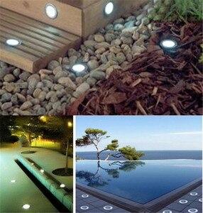 Image 5 - Mini LED, pod ziemią, lekka 1W IP67 ogród światła na zewnątrz wodoodporna okrągła dioda LED krok światła DC12V LED światła pokładowe reflektor LED RGB