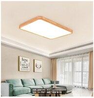 Lâmpadas de Luzes de Teto de Madeira moderno LEVOU Plafonnier Moderne Luminarias de teto Nórdico sala de Jantar Quarto Luminária|Luzes de teto| |  -