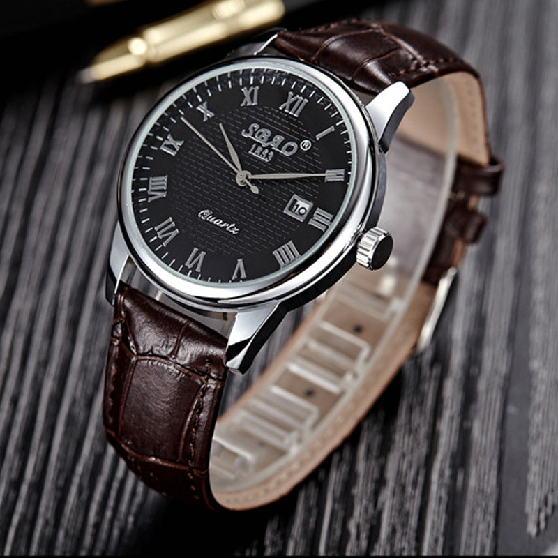 Ladies Women Wristwatch Watch Relogio Feminino 1 Pair Fashion Business Mens Womens Couple Leather Quartz Date Wrist Watch meibo brand fashion women hollow flower wristwatch luxury leather strap quartz watch relogio feminino drop shipping gift 2012